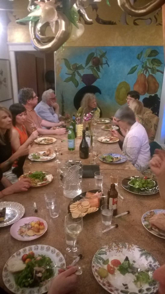 Connectives Dinner, Ginny Ruffner's Home/Studio, 2015